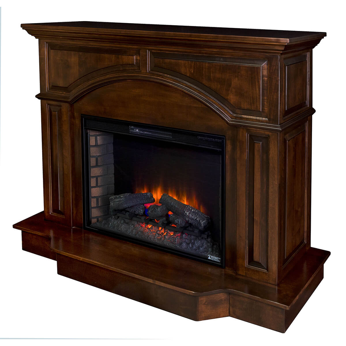 living room furniture fire places