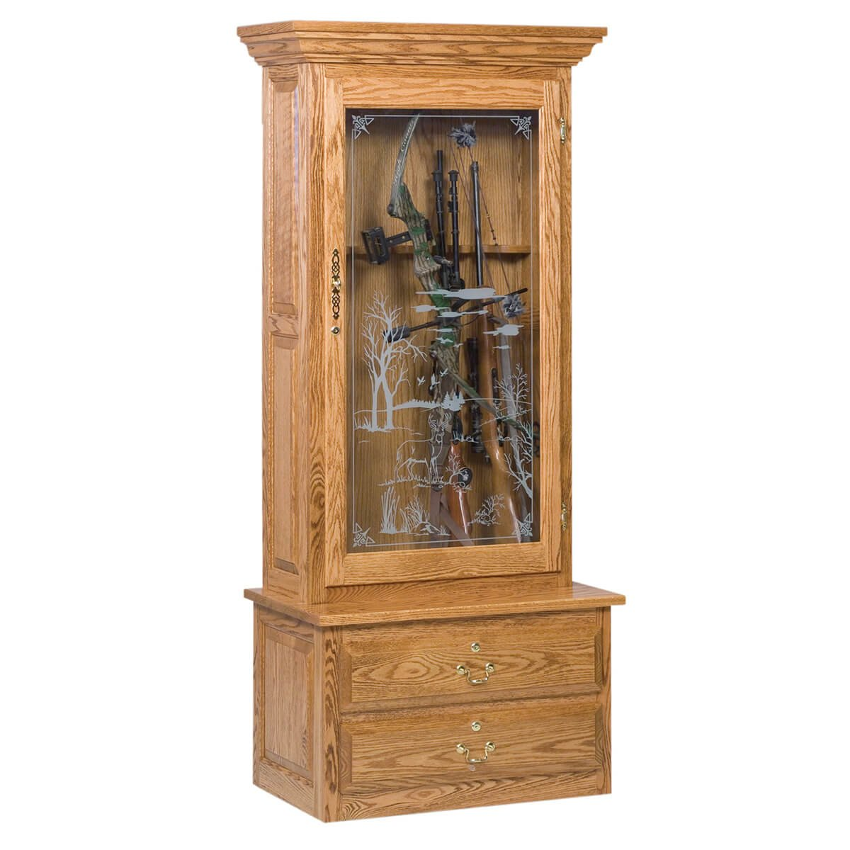 specialty furniture gun cabinets